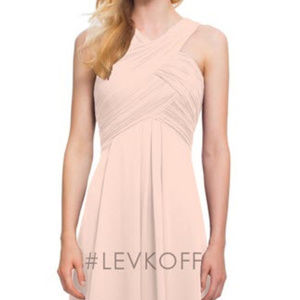 Levkoff Bridesmaid Dress 7016 Petal Pink Size 4